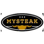 логотип «MYSTEAK»